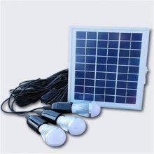 小型便携式家用太阳能发电照明系统,野营灯,夜市灯,户内户外照明灯