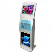 高铁专用手机充电站刷屏机|19寸手机充电广告机哪里有?