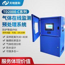 在线式烟气差分紫外光谱分析仪DOAS检测硫化氢990ppm