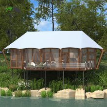 云南豪华帐篷酒店定制 野奢营地规划设计