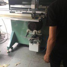 汉中市塑料花盆丝印机安康市陶瓷花盆滚印机商洛市不锈钢花盆丝网印刷机