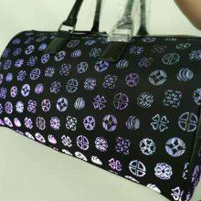 LED光纤混纺布料发光包 手里旅行包 App蓝牙控制发光包 发光旅行包