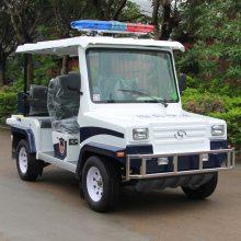 安步优品ABLQX047蓝白色PU座椅悍马款电动巡逻车五座电动城管巡逻车