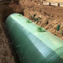 化粪池 玻璃钢模压缠绕 农村改造污水处理2立方-200立方玻璃钢化粪池SMC化粪池