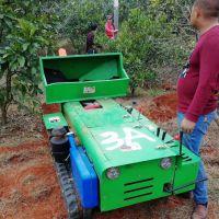 35马力电启动履带施肥机 果园施肥机 自走平稳履带开沟机 新型履带开沟施肥机