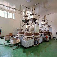 厂家直销 石磨成套设备 小磨香油流水线 芝麻酱机器 小磨香油成套设备 芝麻水洗机