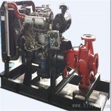 裕泽柴油机长轴消防水泵增压稳压设备机组室内外消防喷淋火栓泵组