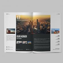 宣传彩页设计 单位内部刊物设计 商会会刊设计印刷