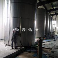 立式不锈钢罐定制 移动式不锈钢储料仓 融兴