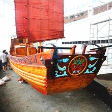 习水县木船厂设计明代古代木船