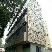 外立面门头镂空雕花铝单板定制厂家