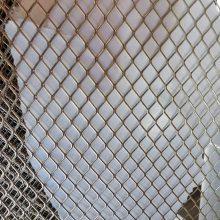 镀锌板冲孔拉伸网 菱形孔金属网 制作展览架 广告架 小孔钢板网 马腾现货