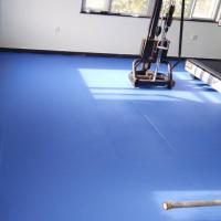 供应西藏PVC塑胶地板/欧宝瑞羽毛球地板/水晶砂PVC运动地胶