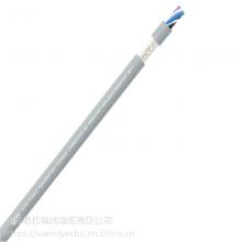 易初供应高速移动抗紫外线防水聚氨酯PUR材质 EKM715973-STP 4*2*7/0.1拖链网线