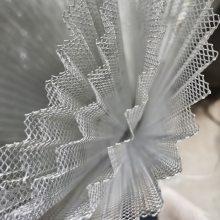 压波纹小钢板网 菱形网过滤 压波纹铝板网 滤芯 空气过滤马腾现货