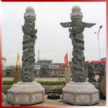 惠安镂空石雕 仿古传统精浮雕 寺庙园林广场公园建筑华表盘龙柱