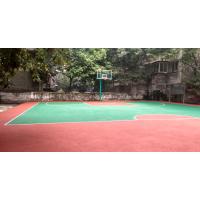 广安鸿瑞铠小型篮球场厂家报价