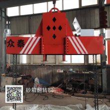 链式悬挂360度翻转机 铸造模具翻箱机