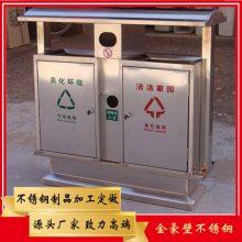 304不锈钢户外垃圾桶 商场201不锈钢垃圾箱 佛山不锈钢垃圾桶定制