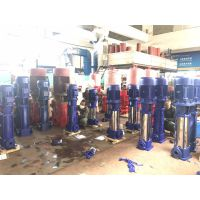 销售新标50GDL12-15*6立式不锈钢多级管道离心泵,管道增压水泵高压高扬程电机稳定