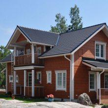 木屋别墅工程施工双层木结构房屋重型木屋搭建景观防腐木工程公司