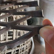 冲压拉伸 工地脚踏加厚钢板网 菱形 塔吊 建筑走道钢板网片