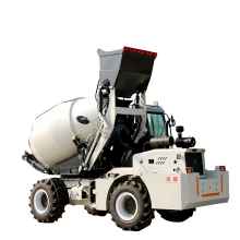 2方自动上料混凝土搅拌车 全自动混凝土上料搅拌运输车