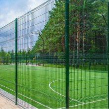 产地货源 公路隔离铁丝浸塑边框护栏 高速公路防护钢丝框架护栏网