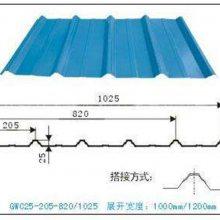 供应周口市彩钢板板厂家YX25-210-1040型屋面瓦楞板规格齐全