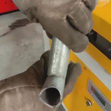 钢管对接电动冲弧机 多工位电动弧口机 不锈钢护栏冲弧机价格