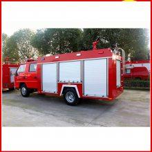 正宗国五东风2吨消防洒水车可以上蓝牌