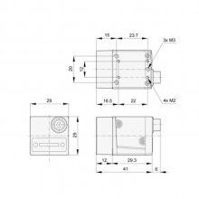 acA640-750uc 东莞市Basler工业相机代理商 32万像素彩色相机USB3.0