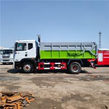 摆臂垃圾车 对接式垃圾车质量好 钩臂式垃圾车*** 挂桶垃圾车 挂桶对接式垃圾车 操作简单