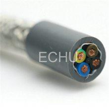 易初电缆国标双绞镀锡丝编织屏蔽线 RYVSP RVVSP