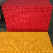 厂家直销欧宝瑞悬浮式拼装运动地板弹扣地板
