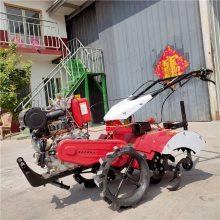 四驱微耕机 自走式开沟施肥机 柴油动力大马力旋耕机