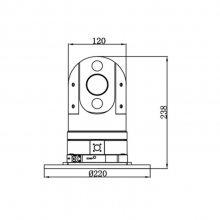 iDS-TCC215-I/30/Z1 海康威视柱形车载云台摄像机(强力磁铁)80米红外