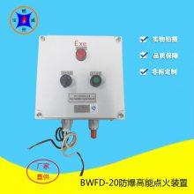 宝威燃控锅炉防爆高能点火装置BWFD-20 隔爆型就地/远程点火功能