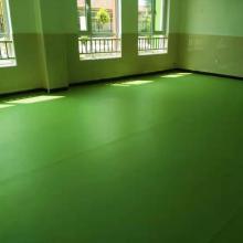 河北欧宝瑞幼儿园平纹PVC运动地胶/PVC彩色运动地版