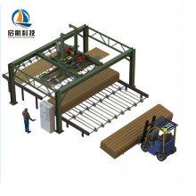济南数控机床桁架式自动上下料机械手