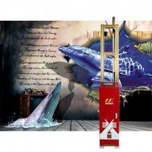 厂家供应中科美创墙体彩绘机第九代产品
