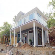 供应定制 轻钢别墅 型钢别墅 钢结构住宅 钢结构房屋 轻钢结构房