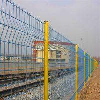 机场护栏网 双边护栏网 浸塑围栏网