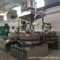厂家直销电动石磨机燃气炒锅 传统小磨香油 石磨香油机电动豆浆机