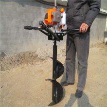 省力框架手提挖坑机 四冲程打眼机 后悬挂挖坑机