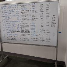 晟力加工移动开启式宣传栏亚克力看板展示架展板边框