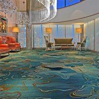 郑州酒店多功能厅地毯宾馆定做 灰色印花酒店客房地毯B1