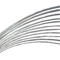 304不锈钢钢丝绳 左右互捻包胶304L吊装耐腐蚀钢丝绳