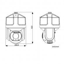iDS-2VS435-F840/T3 海康威视星光级红外违章检测一体球机 车流量 车道平均速度