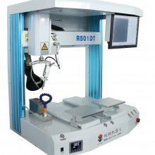 锐驰R501DT双工位自动焊锡机 全自动焊锡机厂家 非标定制